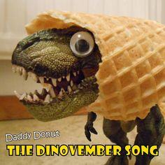 The Dinovember Song (Dinosaurs come alive at night), by Daddy Donut Dinosaur Songs, The Good Dinosaur, Christmas Countdown, Little People, Donuts, Daddy, Night, Dinosaurs, Beignets