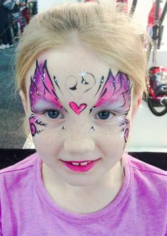 #facepaint butterfly face painting ideas for kids
