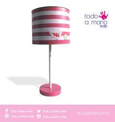 Lámpara de mesa para tu princesa.  #kidsroom #hechoenmexico #amano #kids #decoration #style