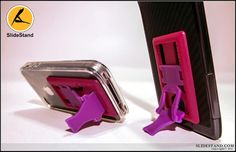 The red on purple slidestand. Purple, Red, Rouge