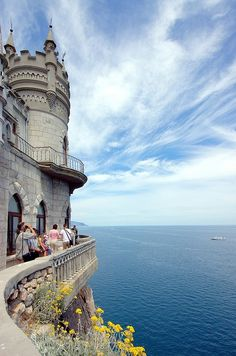 Swallow's Nest, Crimea, RUSSIA