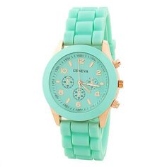Candy Color Silicone Sports Watch