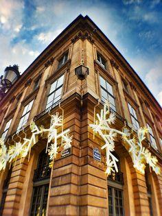Christmas decoration, Place Vendome, Paris