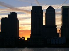 London Images. Chemtrail art, at Canary Wharf. Taken during a boat party with my band.