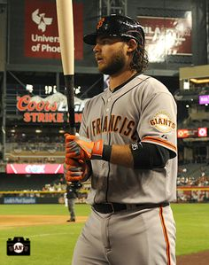San Francisco Giants, S.F. Giants, photo, 2104, Brandon Crawford