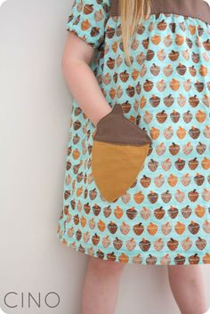 Sew Ready to Play Sneaky Snacky Squirrel with Craftiness is not Optional | Make acorn pockets on a T-shirt for Rae