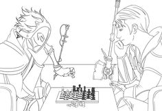LoL - How about a nice game of chess? by snow-princess.deviantart.com on @DeviantArt Your Move ;D