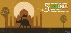 5 things to do in India for Free while Traveling