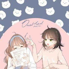 Anime Neko, Kawaii Anime, Manga Anime, Anime Art, Anime Girl Pink, Comic Drawing, Korean Art, Anime Poses, Anime Angel