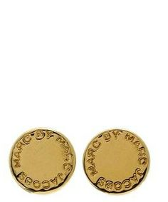 Marc by Marc Jacobs Logo Disc Studs #accessories  #jewelry  #earrings  https://www.heeyy.com/suggests/marc-by-marc-jacobs-logo-disc-studs-oro/
