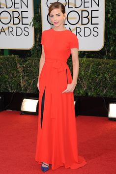 best dressed golden globe awards 2014 - Emma Watson dy Dior