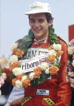 Ayrton  Senna .