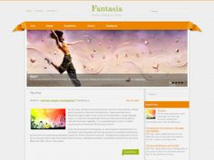 Fantasia is beautiful free WordPress theme for personal web pages. This is a complex wordpress themes with lots of useful features like custom widgets, feedback form, slider, video supporting and many other.