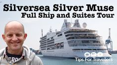 Silversea Silver Muse Cruise Ship Tour and Review - Best Cruise Ship In The World? Silversea Cruises, Best Cruise Ships, Muse, How To Find Out, Tours, World, Places, Travel, Viajes