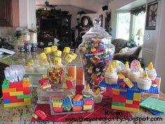 They Are Crafty: Lego party