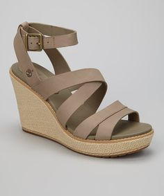 da648c48905 Gray Danforth Wedge Sandal