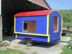 Daphne's Caravans: Magical Gypsy Caravans, guest spaces or retreats Home Made Camper Trailer, Camping Trailer Diy, Camping Glamping, Camping Stuff, Camper Trailers, Homemade Camper, Diy Camper, Gypsy Caravan, Gypsy Wagon