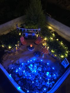 My beach themed fairy garden! | Garden stuff | Pinterest | Fairy ...
