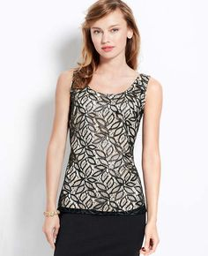 db91a80d6b56a Abstract Lace Shell Black Abstract