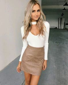 Outfit con falda •