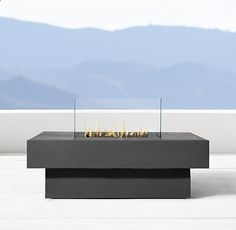 Perfect Makena Square Fire Table