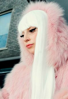 Gaga in pink Lady Gaga Daily, Joanne Lady Gaga, Lady Gaga Artpop, The Fame Monster, Lady Gaga Pictures, A Star Is Born, Arte Pop, Italian Girls, Star Wars