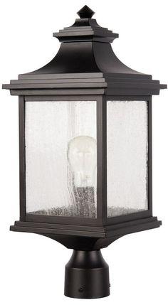 Gentry   One Light Outdoor Post Mount. Light PostsLighting ConceptsOutdoor  ...