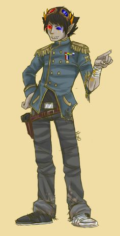 Post-Apocalypse Sollux by robotRainbows on DeviantArt Homestuck Characters, Fictional Characters, Burdge Bug, Home Stuck, Post Apocalypse, Fire Emblem, Troll, Pop Culture, Fangirl