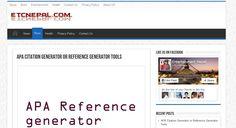 http://www.etcnepal.com/apa-citation-generator/