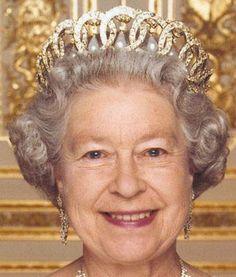A beautiful official photograph of Her Majesty