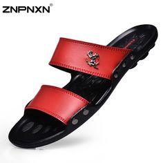 $13.49 (Buy here: https://alitems.com/g/1e8d114494ebda23ff8b16525dc3e8/?i=5&ulp=https%3A%2F%2Fwww.aliexpress.com%2Fitem%2FNew-2015-Men-Sandals-Fashion-Casual-Flat-Soft-Summer-Flip-Flops-PU-Massage-Beach-Slipper-Shoes%2F32354664237.html ) New 2015 Men Sandals Fashion Casual Flat Soft Summer Flip Flops PU Massage Beach Slipper Shoes For Men Zapatos Size 39-44 for just $13.49