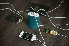 Station de Recharge de Bureau et Voyage Jelly 4 ports USB 5.1A (Couleur Grise) : MaxiMobileShop la boutique d'accessoires pour Téléphones Mobiles, Smartphones et Tablettes Tactiles