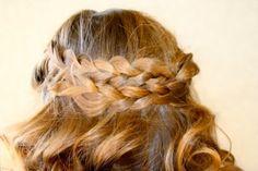 Pancake Braid | Bohemian Hairstyles