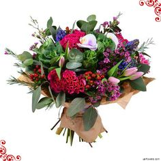 Make someone hear the music of your heart. Bouquet ''Flower Symphony''