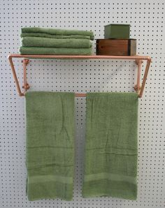 rustic copper towel rack towel bar u0026 shelf by steampunk bathroombar