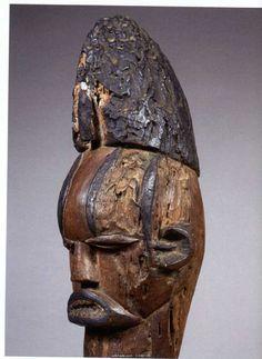 Warrior Spirit, Art Africain, Totem Poles, West Africa, Ghana, Spoons, Statues, Abs, Skull