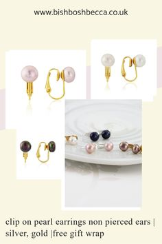 If you are having problems finding clip on pearl earrings, if you have unpierced ears, Have a look at these classic pearl stud earrings made especially for non pierced ears. Clip On Pearl Earrings, Women's Earrings, Earrings Handmade, Handmade Jewelry, Earring Display, Timeless Elegance, Pearl Studs, Cultured Pearls, Ear Piercings