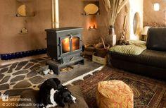 Rachel's Straw Bale Home in Wales