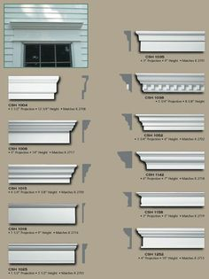 As guests tug into your driveway, your garage is often the first issue they see  and like our garage door trim, your home will make a great first impression.  Choose from several garage contact trim styles: Our economy kit offers a 4- broad casing upon three sides gone attached magnification jambs even if our premium kit features a detailed 8 wide pilaster set and a large mantel header behind crown molding and cap.  Our garage retrieve kits will auxiliary the beauty of your home, past durability House Trim, Exterior Doors, Exterior Door Trim, Colonial Exterior, Molding Around Windows, Window Molding Trim, Window Casing, Moldings And Trim, Crown Molding