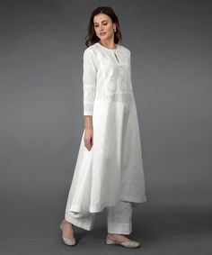 A Global Luxury Design House reinterpreting Indian heritage threads for the modern, discerning consumer Kurti Neck Designs, Kurta Designs Women, Kurti Designs Party Wear, Pakistani Dress Design, Pakistani Outfits, Indian Outfits, Stylish Dress Designs, Stylish Dresses, Fashion Dresses
