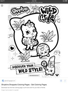 Find This Pin And More On Colorear Shopkins By Wendy
