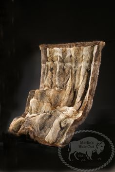 Fur Blankets - Merlin's Hide Out -- This would be a great couch throw or extra winter warmth for the bed.