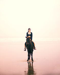 A girl with horse