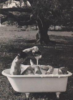 estos baños sientan muy bien