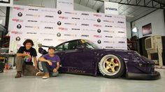 Nakai san, Ian King of CPR and Victoria - June 9, 2013 #rwbmanila #rauhweltbegriff #carpornracing #porsche #victoria