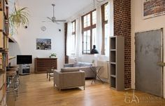 Wonderful & very comfortable loft apartment for rent in the 10th district of Paris