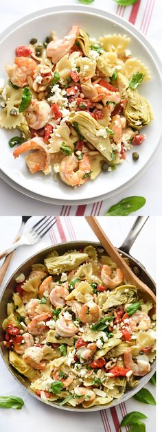 This pasta is fast but so flavorful for a favorite dinner any night of the week | foodiecrush.com