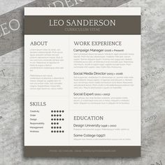 professional cv template resume template by spicyresumes on etsy
