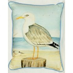 Dick's Sea Gull 16x20 Outdoor Pillow
