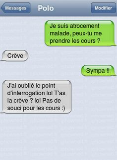 SMS drôles. | Le blog de Radiblog Funy Quotes, Funny Animal Quotes, Hilarious Animals, Funny Friday Memes, Friday Humor, Monday Memes, 9gag Funny, Funny Jokes, Memes Humor